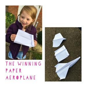 Chloe paper plane