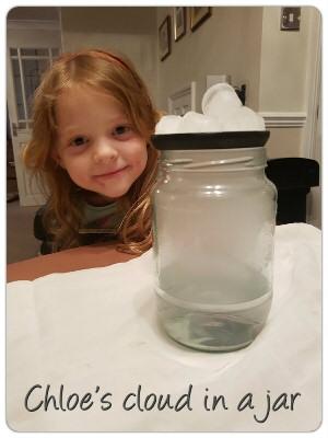 Chloe cloud in a jar