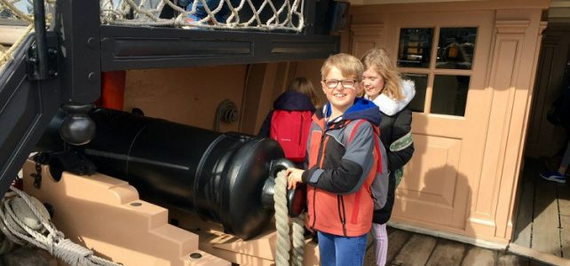Years 5 & 6 Residential Trip on HMS Victory