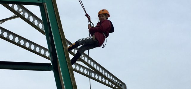 Years 5 & 6 Residential Trip – Abseiling