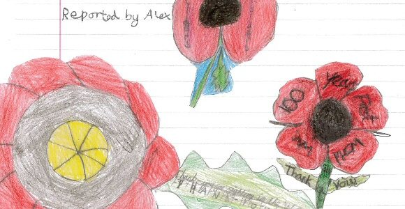 Remembrance Day News Report by Alex