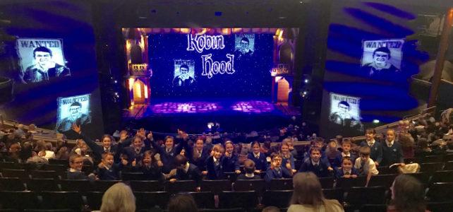 UKS2 visit to Milton Keynes Theatre