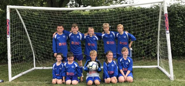 Twyford CE School Football Team July 2019