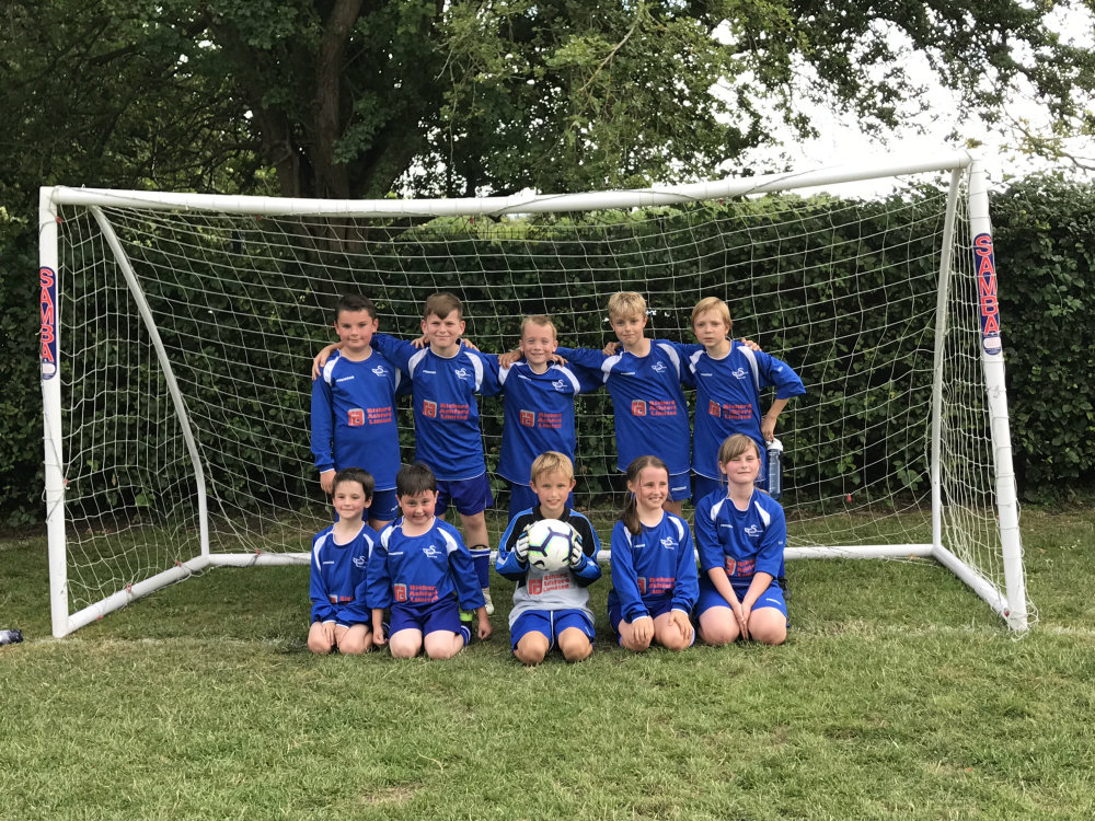 Twyford CE School Football Team July 2019