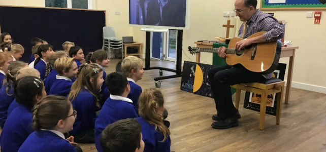 Poet James Carter Visits the School